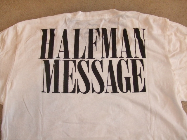 HALFMAN LOVE AND HATE SS TEE BKPT