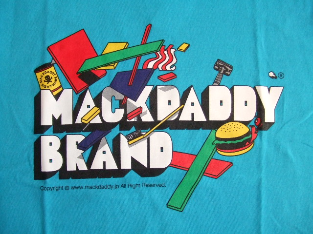 MDY MACKDADDY BRAND SS TEE TURQUOISE