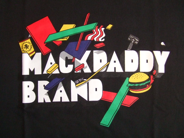 MDY MACKDADDY BRAND SS TEE BLACK