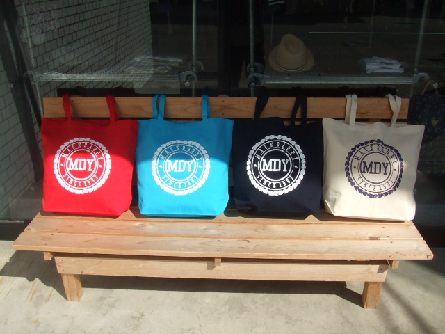 MDY CANVAS TOTE BAG