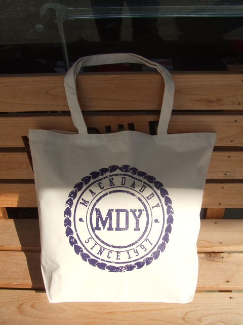 MDY CANVAS TOTE BAG OFF WHITE