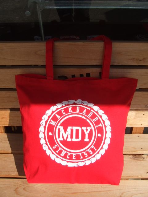 MDY CANVAS TOTE BAG RED