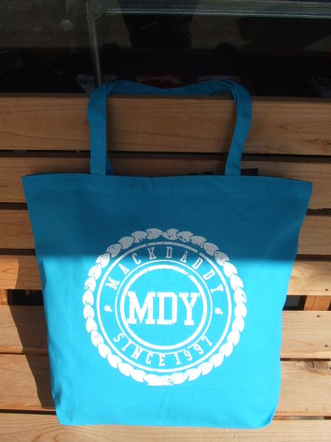 MDY CANVAS TOTE BAG TURQUISE