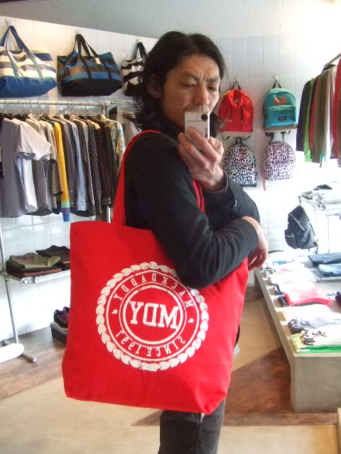 MDY CANVAS TOTE BAG ST