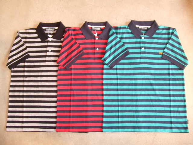 MDY BORDER POLO SHIRTS