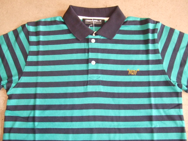 MDY BORDER POLO SHIRTS GREEN FT1
