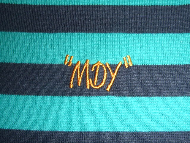 MDY BORDER POLO SHIRTS GREEN EB