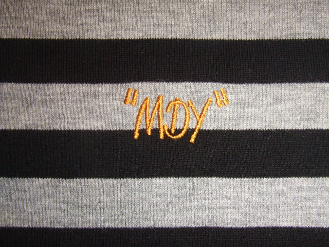 MDY BORDER POLO SHIRTS BLACK EB