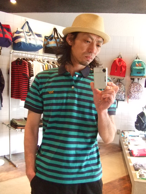 MDY BORDER POLO SHIRTS ST