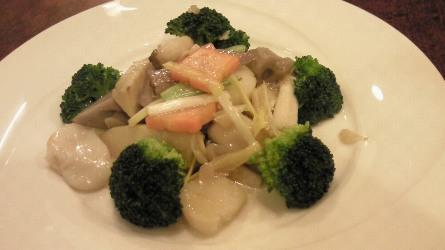 貝柱季節野菜