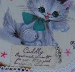 猫財布タグ