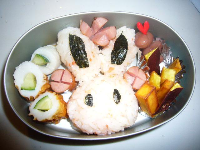 ウサギ弁当