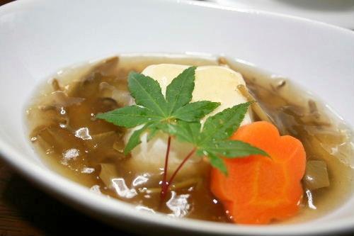 じゅんさい豆腐