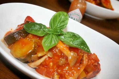 手羽もとのトマトソース煮