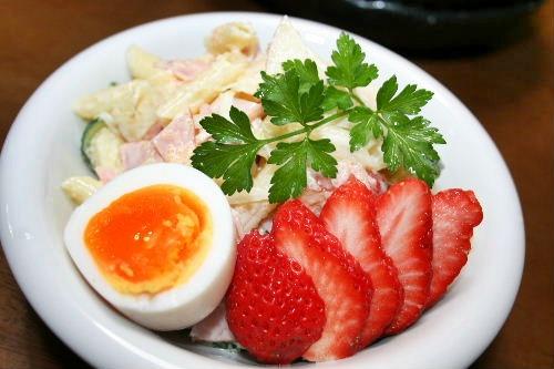 マカロニ明太サラダ
