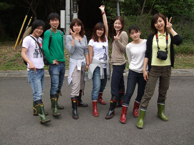 長靴集合0318