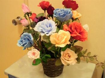 造花のガーベラの交代要員