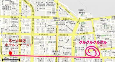 台北 南京東路 地図2