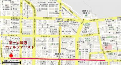 台北 南京東路 地図1
