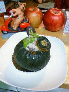 かぼちゃのケーキ1