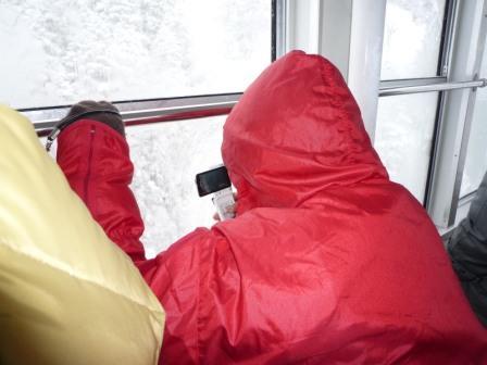 純白の銀世界北アルプス連峰の絶景雪白銀岡電器サービス
