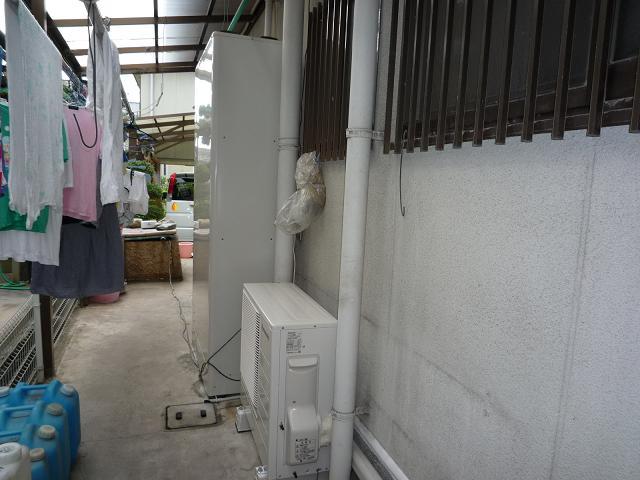 和歌山岡電器サービス岩出パナットおかエアコン取り付け火災報知機取り付け