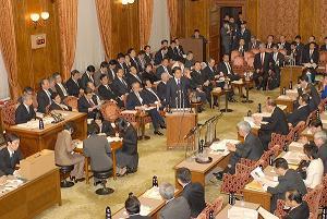 予算委員会(イメージ)