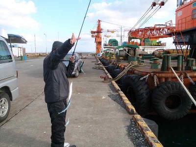 サンマ釣り