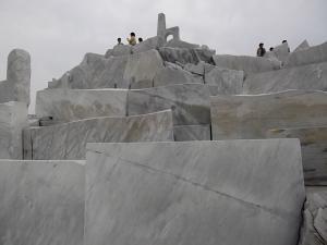 大理石の山