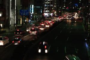 歩道橋から神田方面