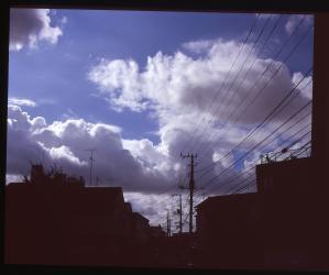 今度は白い雲