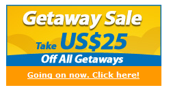 Getaway Sale