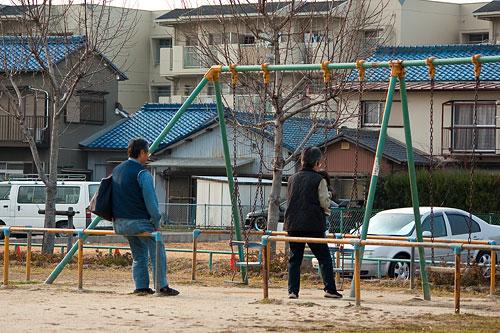 矢田川風景-2