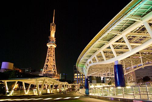 名古屋の夜-4