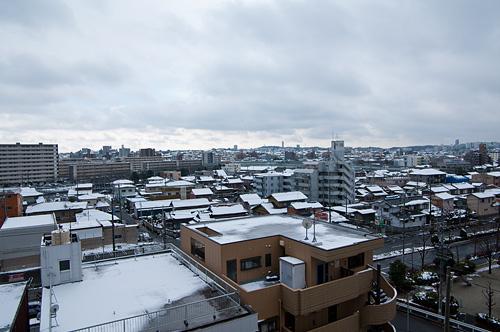 雪降り-11