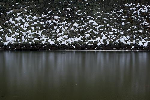雪の名古屋城1-1