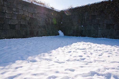 雪の名古屋城1-3