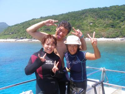 沖縄ファンダイビング マンタ