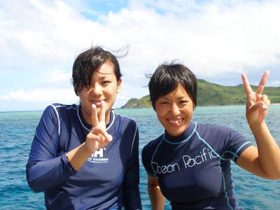 渡名喜遠征ファンダイビング