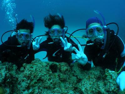 沖縄半日体験ダイビング
