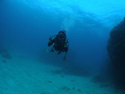 沖縄半日ボートダイビング