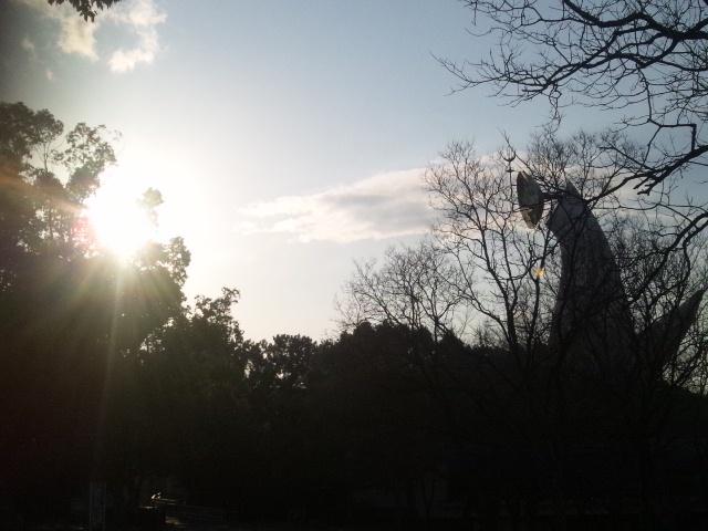 太陽VS太陽の塔