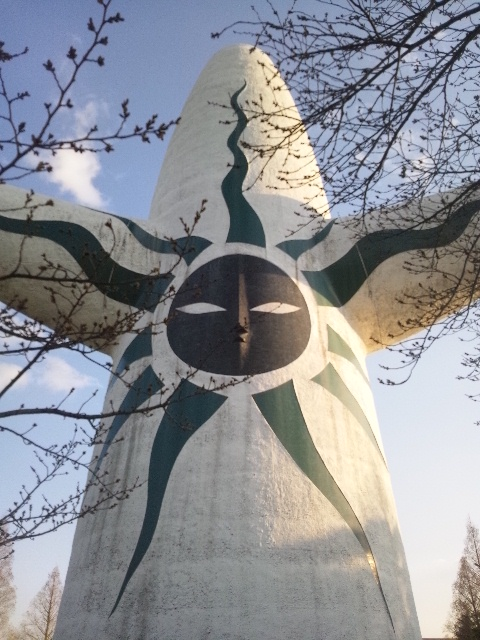太陽の塔背中