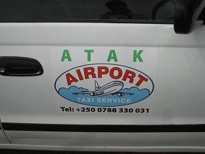 Kigali Airport taxi 2
