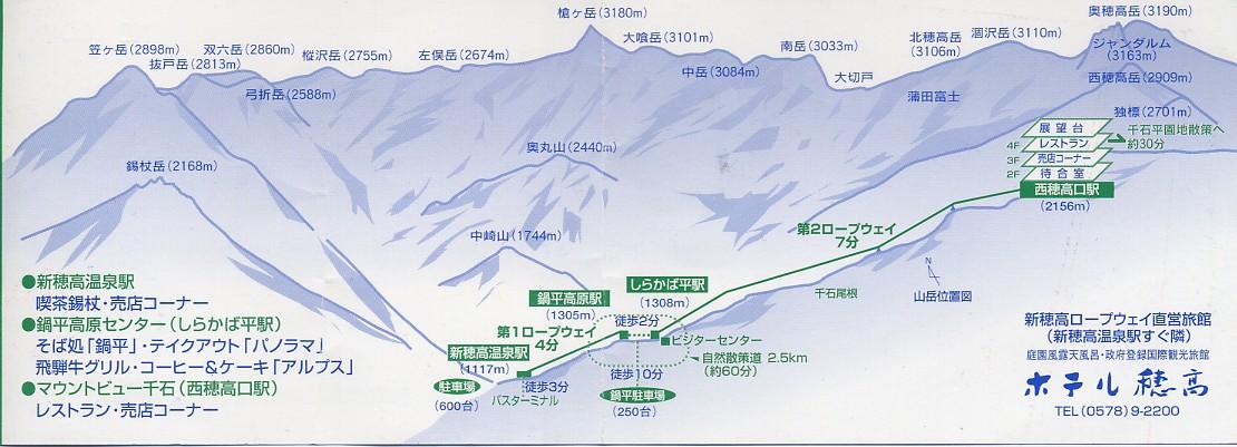 新穂高ロープ2