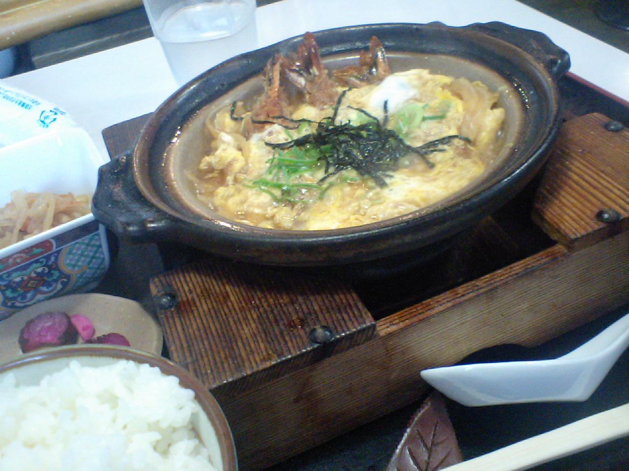鵜方駅の昼飯