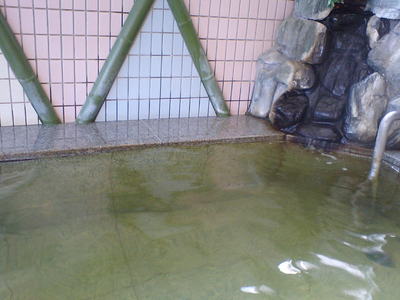 あさひ温泉 加温風呂1
