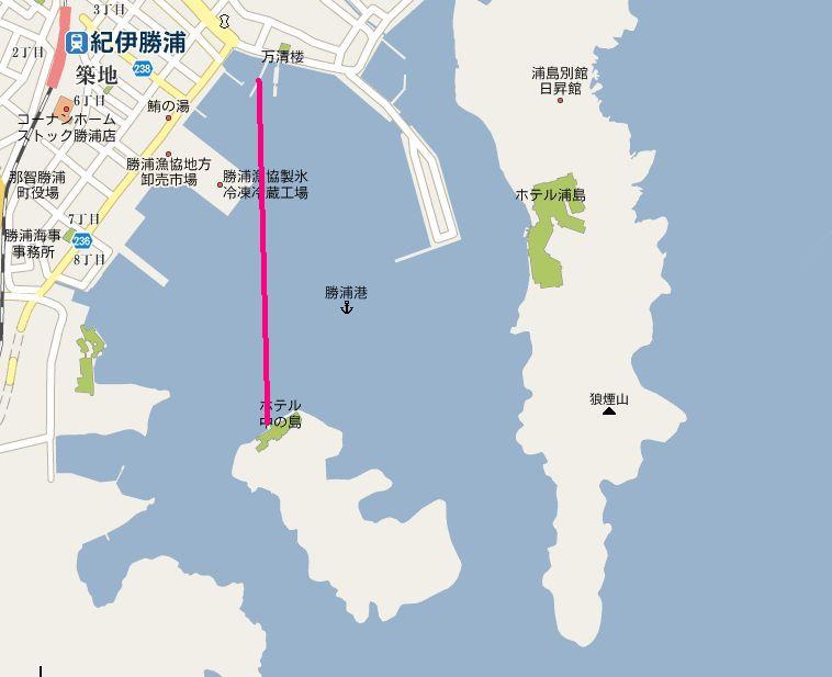 中の島地図