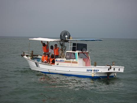 2011引き上げ式見学船