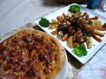 ピザ&鶏焼き